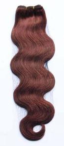 Human hair weaves